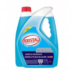 Gel igienizant alcool 70% pentru maini 3600 ml Kristal