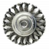 Perie sarma, circulara, cu toroane, M14 x 2 mm, 100 mm, Strend Pro GartenVIP DiyLine
