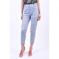 Pantaloni Carouri Object Naida Albastru Deschis, 34, 36, 38, 40