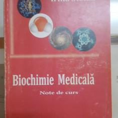 Irina Stoian, Biochimie medicală, Note de curs, 2008