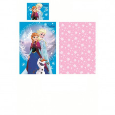 Lenjerie de pat MiniMega Frozen Sisters Forever 140x200 cm
