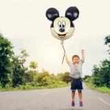 Balon Mickey Mouse, figurina folie dimensiumi 61x61 cm, aer sau heliu, PRC