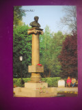 HOPCT 68980  MONUMENTUL PUSKIN   -CHISINAU-MOLDOVA-BASARABIA-NECIRCULATA, Printata