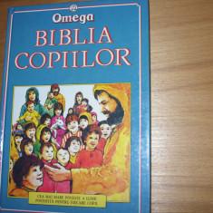 BIBLIA  COPIILOR   ( cartonata, ilustrata color, 256 pagini ) *