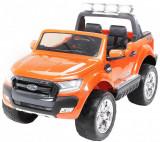 Masinuta electrica pentru copii Ford Ranger 4x4, 4x35W #Portocaliu
