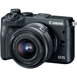 Aparat foto Canon EOS M6 BK 15-45 EU26