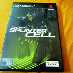 Tom Clancy's Splinter Cell, PS2, original!