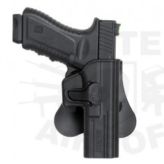 Toc pistol pentru platforma Glock17 - Negru [AMOMAX]