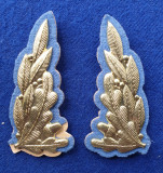 Insigna Militara - semn uniforma - Petlite - ofiter superior SRI