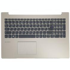 Carcasa superioara cu tastatura ilumianta palmrest Laptop, Lenovo, IdeaPad 520-15, 520-15IAP, 520-15AST, 520-15IKB, 5CB0N98864, auriu