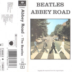 Caseta The Beatles ‎– Abbey Road, originala, sigilata, holograma