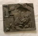 Tablou din zinc de perete, Vase