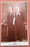 Portret de cuplu - Fotografie tip carte postala datata 1938