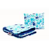 Set lenjerie Sensillo Minky 100x75/35x30 cm Blue