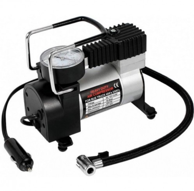 Compresor auto profesional, metalic,12V