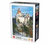 Cumpara ieftin Puzzle Romania - Castelul Bran Iarna, 1000 piese
