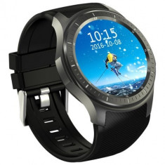 Smartwatch Telefon cu Android iUni DM368 Plus, AMOLED 1.39 inch, Wi-Fi, 4G, GPS, Bluetooth, Monitorizare Puls, Negru