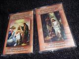 Lot 2 Casete audio Originale Bisericesti Ortodoxe PREDICA Dum.BOTEZUL,T,GRATUIT