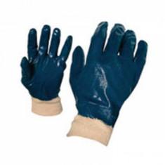 Manusi de protectie nitril albastre cu elastic TS-NBR 002