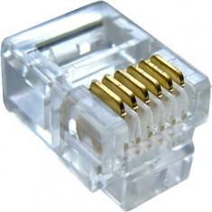 Conector RJ12, 6P/6C - 129009