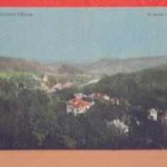 GOVORA- VALCEA - VEDERE GENERALA AERIANA - PERIOADA INTERBELICA - NECIRCULATA -
