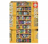 Cumpara ieftin Puzzle panoramic Soft cans, 2000 piese, Educa