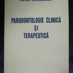 Parodontologie clinica si terapeutica