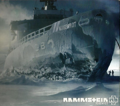 CD Rammstein ‎– Rosenrot, original, rock foto
