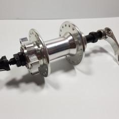 Butuc Spate Bicicleta - Aluminiu - Rulmenti - Frana pe Disc - 36 Gauri