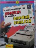 CORESPONDENTA DE AFACERI IN LIMBILE ROMANA SI ENGLEZA - ADRANA CHIRICESCU LAURA