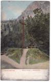 #2460- Ro, Herkulesfürdő, Herculane c.p. scrisa necirc. 1914: Crucea Gizella