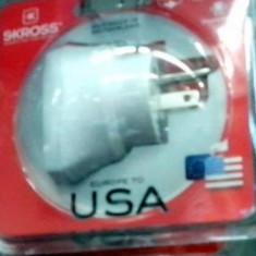 Adaptor priza electrica de la USA la Europa