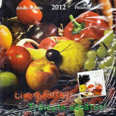 ROMANIA 2012 - ALBUM FILATELIC - TRAIESTE SANATOS- LP 1942 b