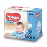 Scutece Huggies Ultra Confort Box, Numarul 4, pentru baieti, 126 bucati, 8-14 Kg EVO