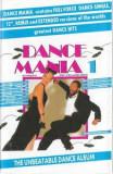 Caseta audio Dance Mania-vol 1, originala