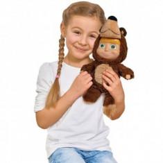 Papusa copii 3+ ani Masha and the Bear 2 in 1 Masha 25 cm in costum de urs