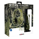 Casti Gaming Konix Mythics Ps-400 Camouflage Ps4