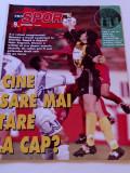 "Revista fotbal-""PRO SPORT"" 10.03.-16.03.1999 (contine poster O. SABAU-Rapid)"