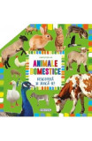 Carte pop-up: Animale domestice. Descopera si joaca-te