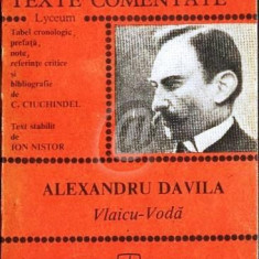 Alexandru Davila- Vlaicu Voda