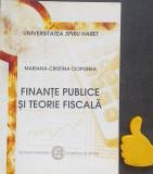 Finante publice si teorie fiscala Mariana-Cristina Cioponea