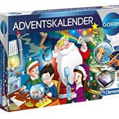 Calendar advent cu 24 de accesorii sau experimente mici din programul Galileo