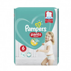 Scutece Pampers Active Baby Pants 6 Carry Pack, 19 buc/pachet