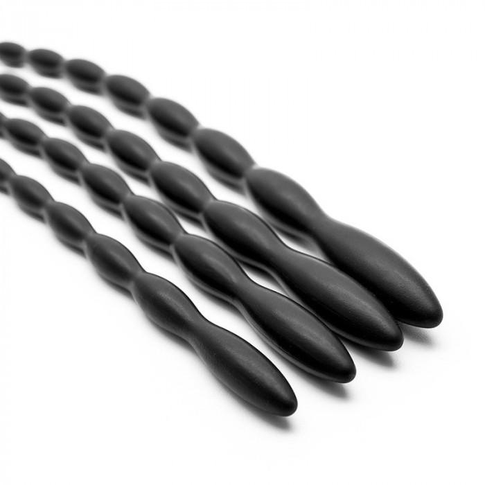 Set 8 B. Dispozitiv Silicon Penis Uretra Plug Sound Dilatator Stimulator Uretral