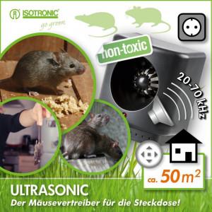 Aparat Anti soareci sobolani Ultrasonic XL-200