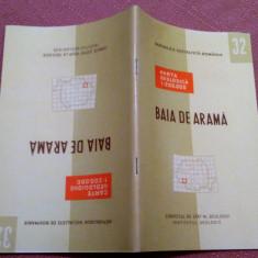 Baia De Arama. Nota explicativa  Institutul Geologic, 1968 - Nu contine harta