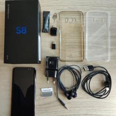 Samsung Galaxy S8 impecabil, Gri, Neblocat, Dual SIM