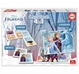 Superpack Frozen 2 - Joc Domino, Joc Identic, 2 x Puzzle 25 piese, Educa