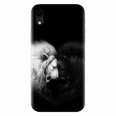 Husa silicon pentru Apple Iphone XR, Lions foto
