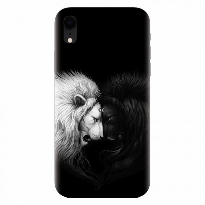 Husa silicon pentru Apple Iphone XR, Lions